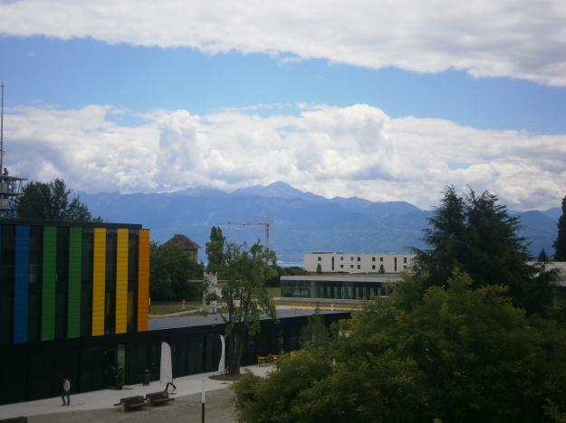 Casual Alpine backdrop