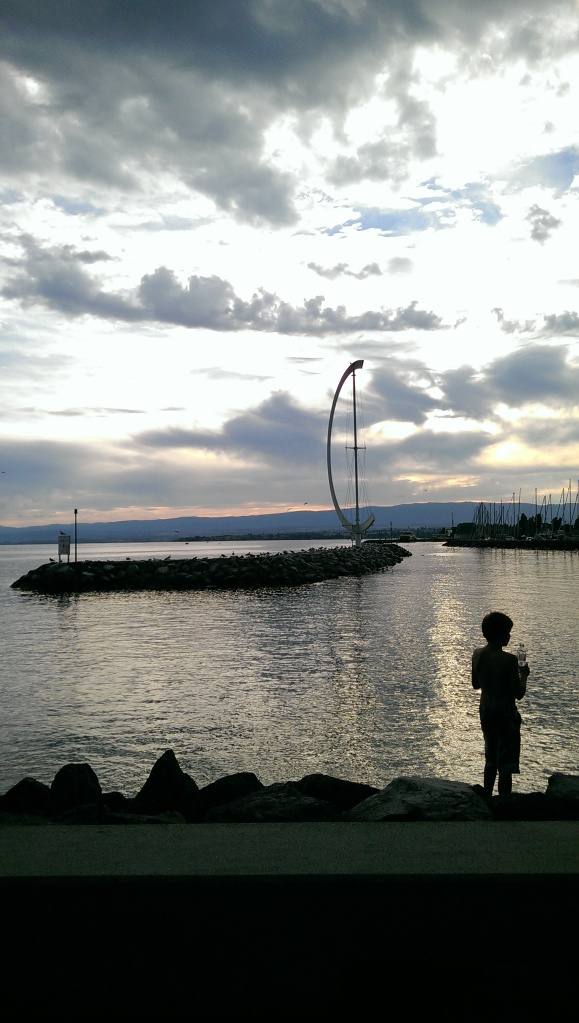 Port at Ouchy, Lausanne.